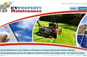 The website header features imagery relating to the companies
